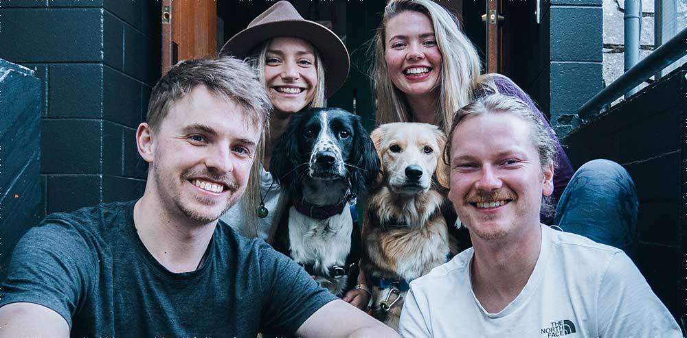 Dogs in Beech Tree Bar